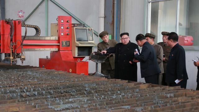 Satélites detectam movimentações para teste nuclear na Coreia do Norte