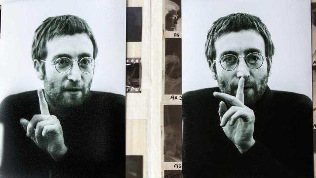 Série de fotos inéditas de John Lennon é apresentada em museu