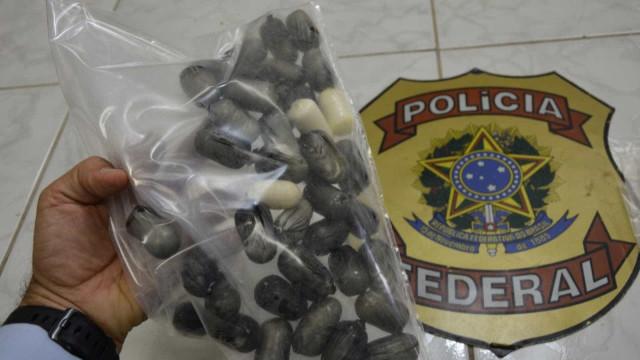 Venezuelano é preso com 52 cápsulas de cocaína no estômago no Recife