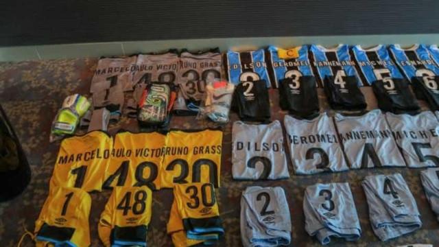 Grêmio muda uniforme para Mundial e só terá um patrocinador na camisa