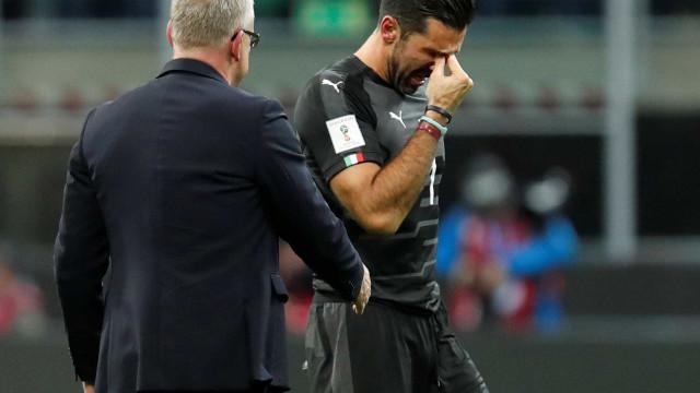 Buffon não se recupera após ficar fora da Copa e não joga neste domingo