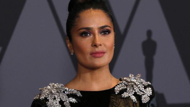 'Por anos, ele foi meu monstro', diz Salma Hayek sobre Harvey Weinstein