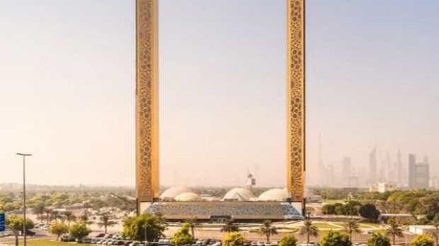 Dubai ganha 'porta-retrato' gigante que permite flutuar sobre a cidade