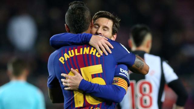 Paulinho já tem 7 gols no Espanhol; Cristiano Ronaldo só marcou 4