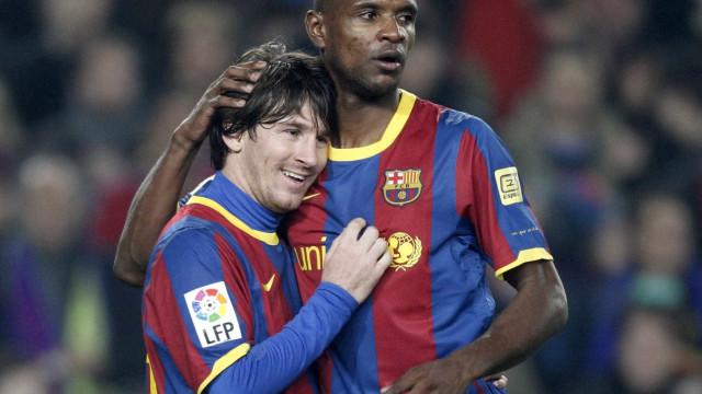 Abidal relembra luta contra o câncer e relata pedido de Messi
