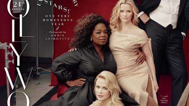 Erro de Photoshop deixa Oprah Winfrey com três mãos em foto de revista