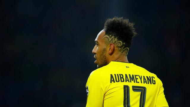 Perto de acerto, Arsenal deve pagar R$ 267 mi por Aubameyang, diz TV