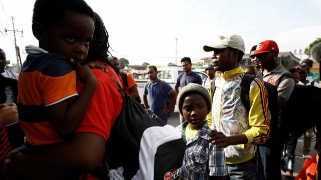 Panamá é rota para migrantes que miram os EUA, mas se perdem na selva