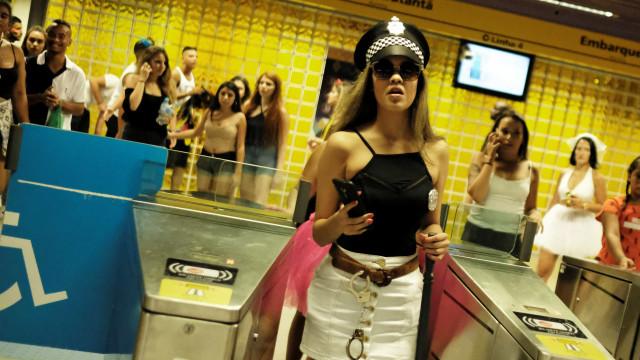 Metrô do Rio terá esquema especial para atender os foliões no carnaval