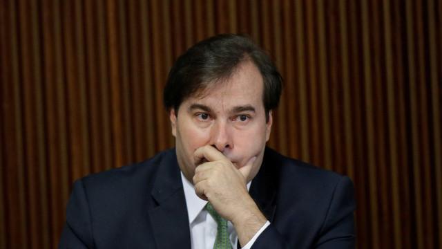 Maia nega que Luciano Huck possa ser candidato à Presidência pelo DEM