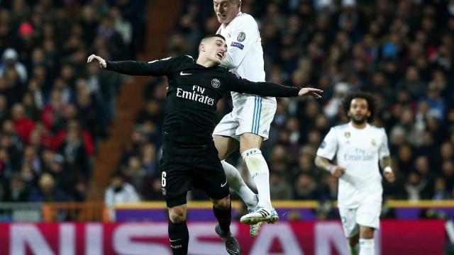 Real Madrid vira pra cima do PSG e leva vantagem para Paris