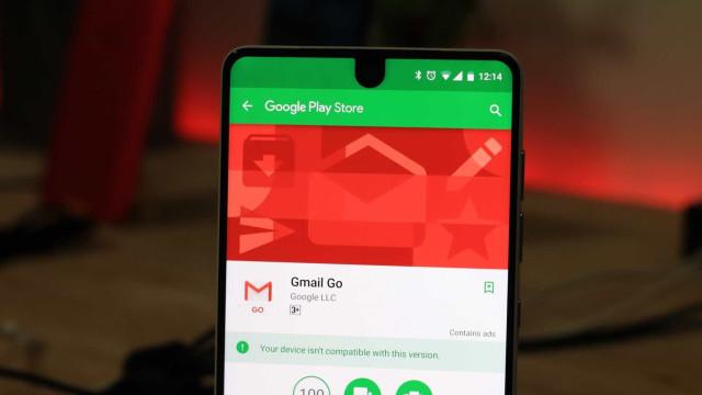 Gmail é lançado em app que consome menos dados