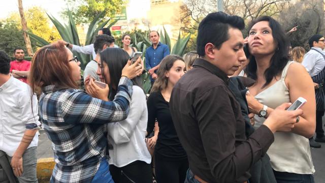 Tremor de magnitude 7,5  é registrado no México; veja vídeo