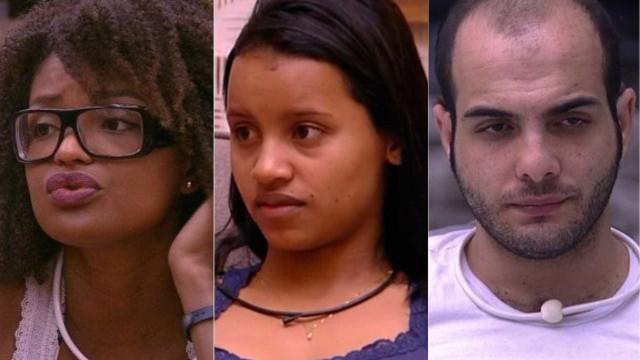 Gleici, Nayara e Mahmoud formam paredão triplo no BBB