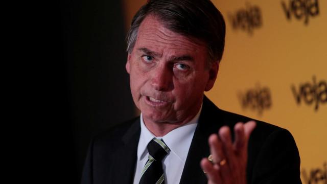 Bolsonaro: 'Temer já roubou muita coisa, mas meu discurso não roubará'