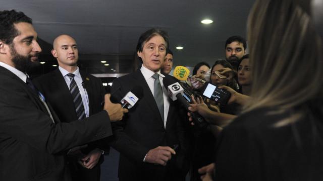 Eunício encaminha parecer sobre intervenção no RJ e definirá relator