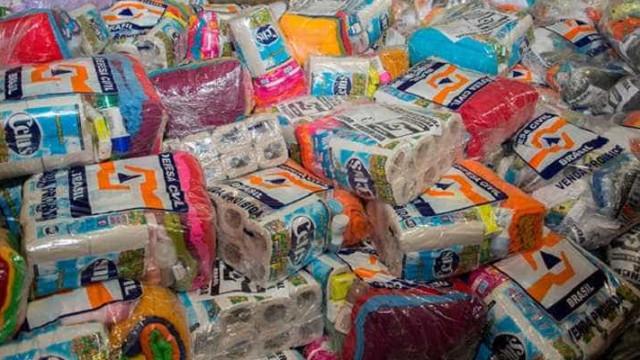 Rio Branco recebe kits de ajuda humanitária após enxurradas
