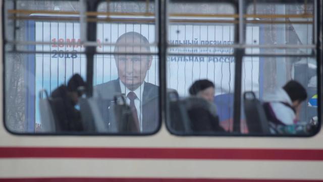 Agentes impedem atentado terrorista em transporte público na Rússia