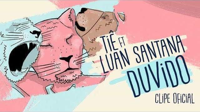 Tiê lança videoclipe em parceria com Luan Santana