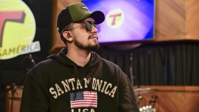 Luan Santana lamenta ausência em casamento de Whindersson Nunes