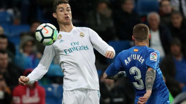 Cristiano Ronaldo marca dois, Marcelo dá assistência e Real bate Getafe