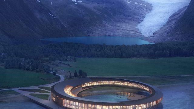 Hotel inspirado em nave alienígena será construído no Ártico