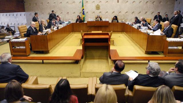 STF se reúne para discutir prisão após condenação em 2ª instância