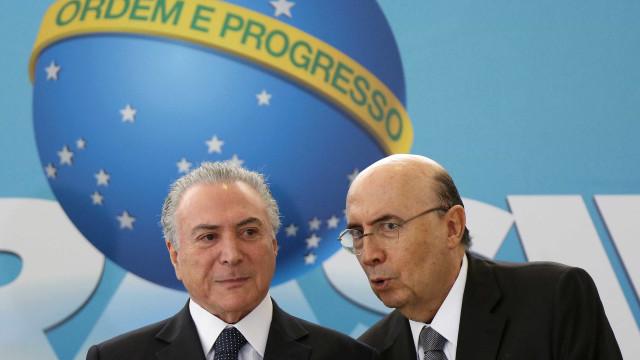 Temer diz que evitará 'quebrar equipe econômica'com saída de Meirelles