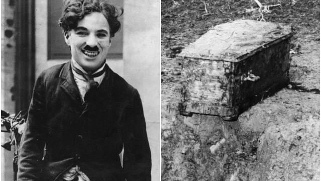 40 anos: a história surreal do roubo do cadáver de Charles Chaplin