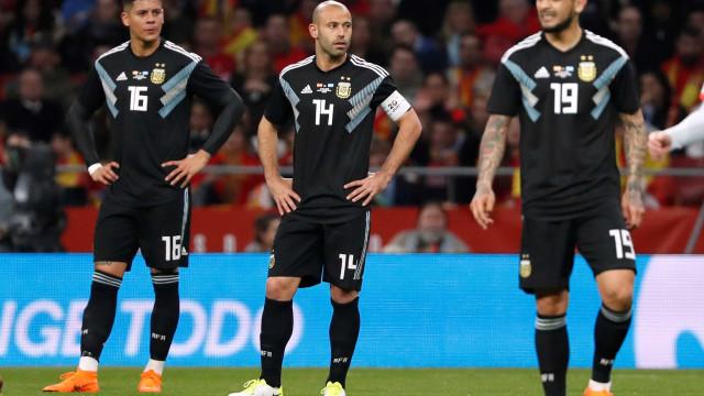 Argentina é humilhada pela Espanha em amistoso: 6 a 1