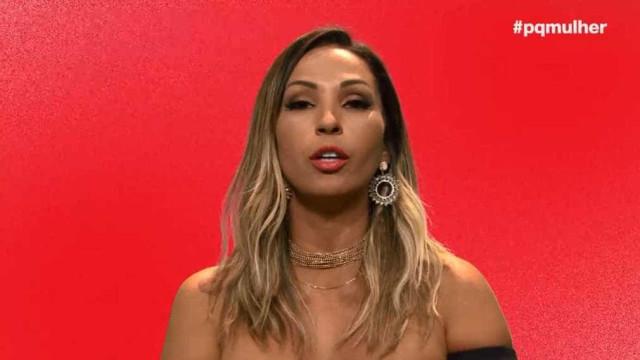 Valesca denuncia assédio na TV: 'Queimei os órgãos de um homem'