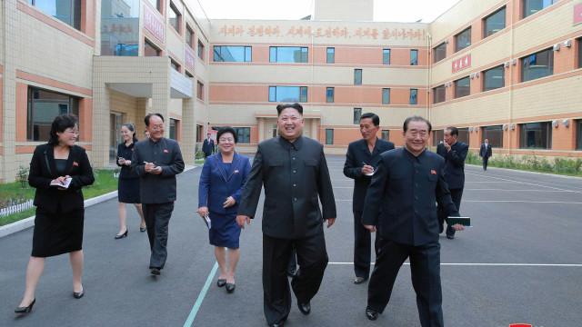 Kim Jong-un diz que Coreia do Norte estará nas Olimpíadas de Tóquio