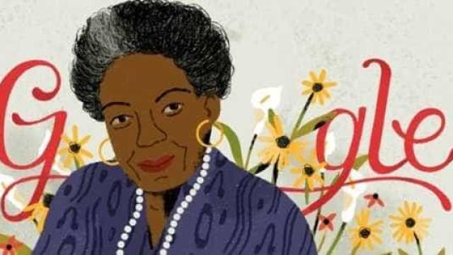 Ativista Maya Angelou ganha homenagem no doodle; conheça