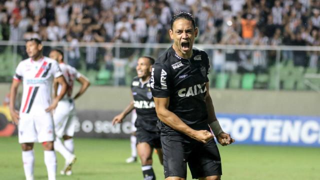 Atlético-MG vence o Ferroviário por 4 a 0 pela Copa do Brasil