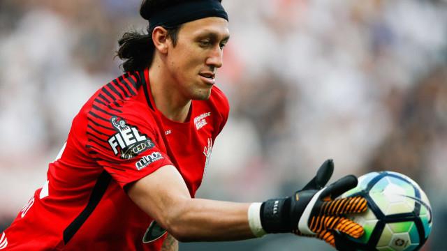 Cássio será capitão do Corinthians na final e pode levantar 3ª taça