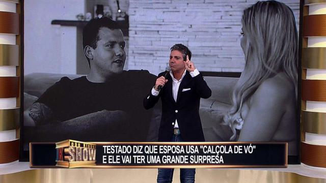 João Kléber volta com Teste de Fidelidade em especial da RedeTV!