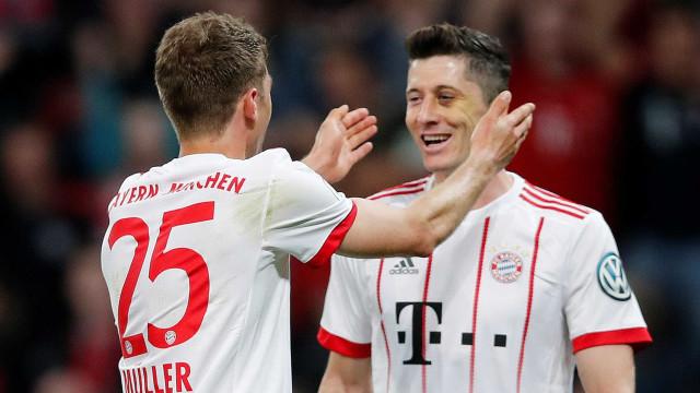 Bayern vence o Leverkusen por 6 a 2 e vai à final da Copa da Alemanha