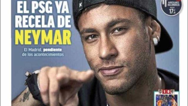 'PSG já suspeita de Neymar', diz jornal espanhol