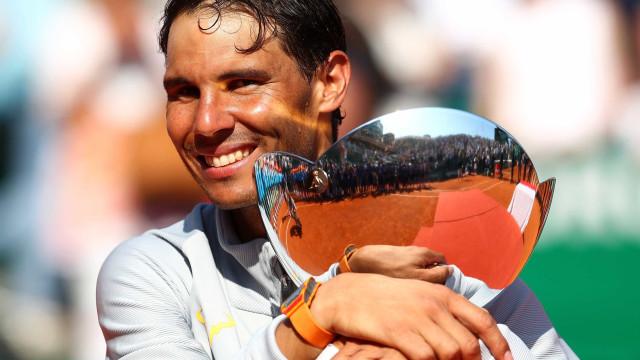 Nadal leva 11º troféu em Montecarlo e vira maior vencedor de Masters
