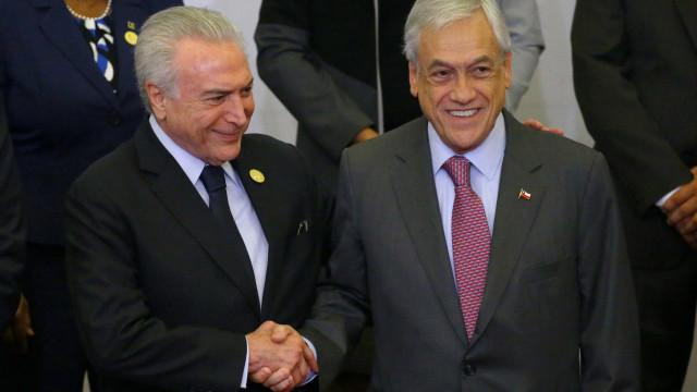 Brasil e Chile terão acordo para proteger investimentos