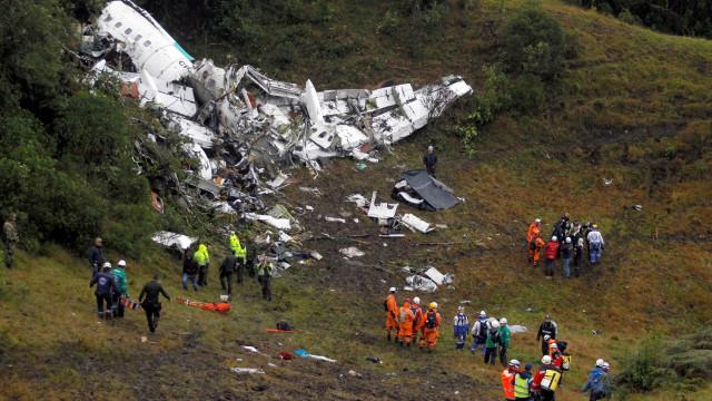Colômbia divulga relatório final do acidente com o voo da Chapecoense