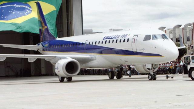 Embraer tem prejuízo líquido de R$ 40 milhões no 1º trimestre