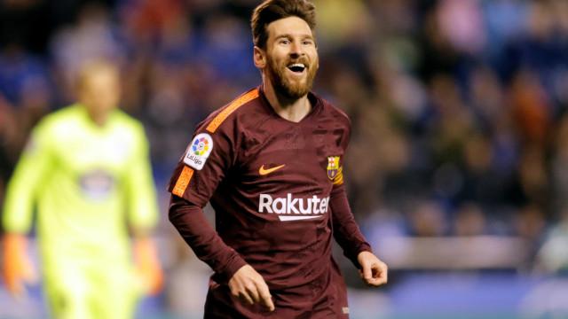 Messi celebra nono título espanhol pelo Barça: 'Fomos muito superiores'