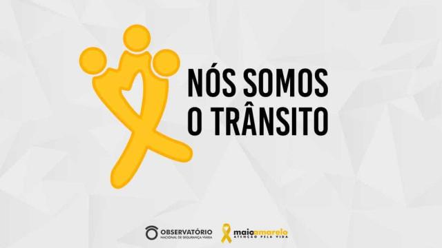 Campanha do Maio Amarelo alerta para 37 mil mortes no trânsito no país