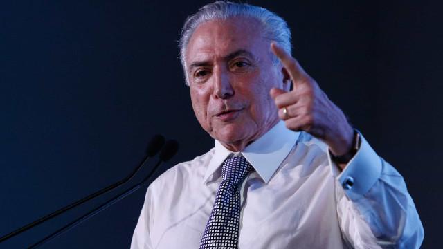 Gafe presidencial: Temer se confunde ao citar Corinthians em discurso