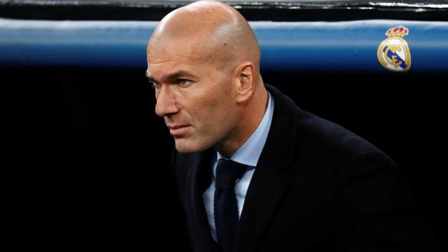 Zidane descarta Real Madrid misto contra Barcelona: 'Não temo lesões'