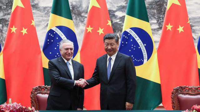 Investimentos da China no Brasil atingem US$ 1,34 bilhão em 2018