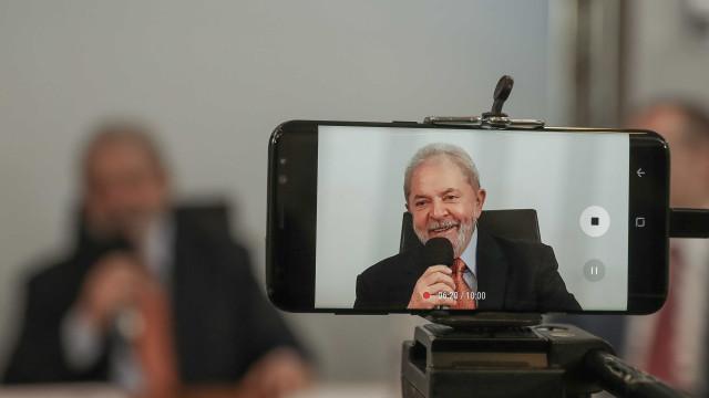 Lula deixou vídeos para uso em campanha do PT ao Planalto