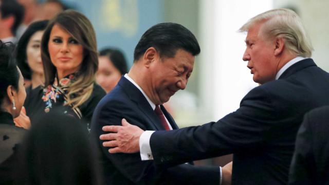 Trump diz que EUA e China estão 'trabalhando bem' em negociações