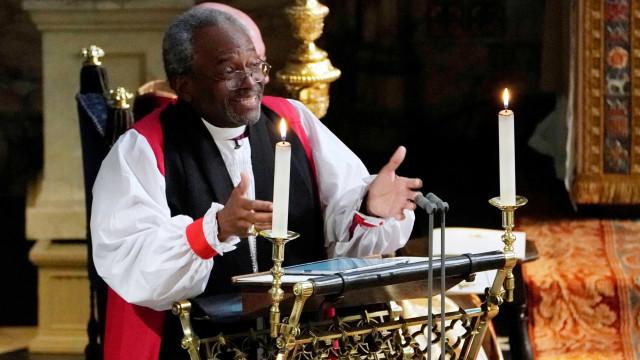 Bispo cita Martin Luther King em sermão para Harry e Meghan